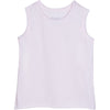 RAW EDGE BURNOUT TANK WHITE