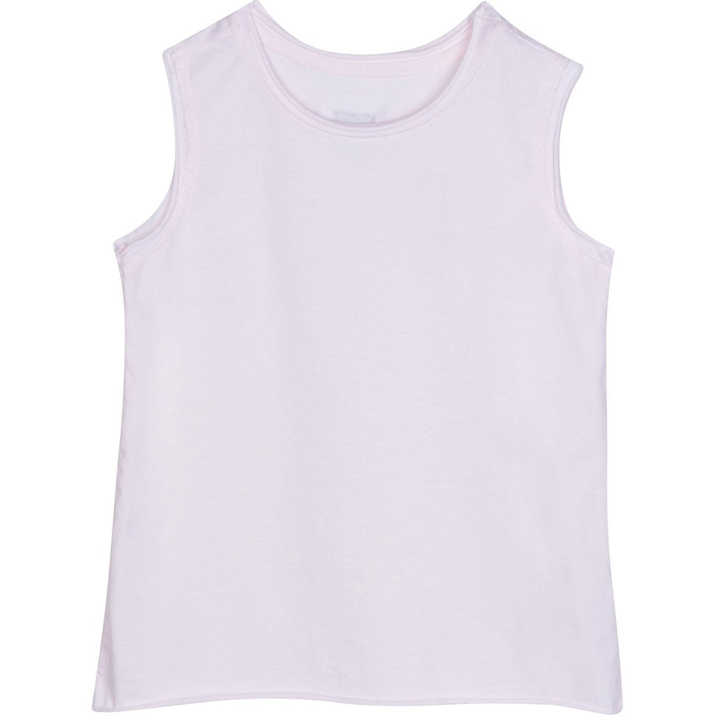 RAW EDGE TANK PINK - Be Mi Los Angeles