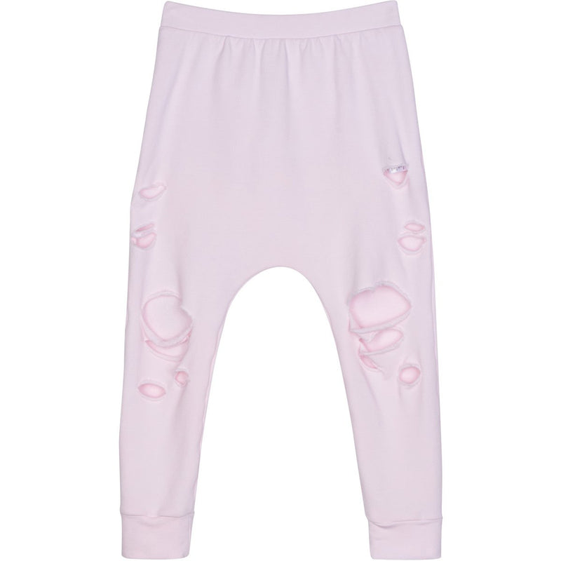 ORGANIC MALIBU JOGGERS DISTRESSED PINK - Be Mi Los Angeles