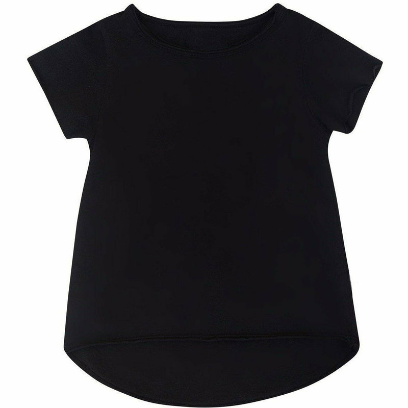 ASHER  BABY TEE BLACK - Be Mi Los Angeles