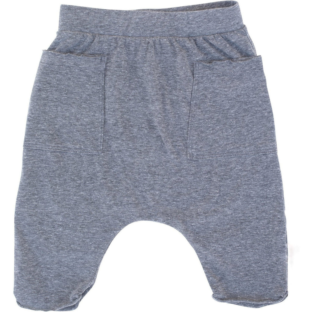 POCKET SHORTS HEATHER GREY - BABY - Be Mi Los Angeles