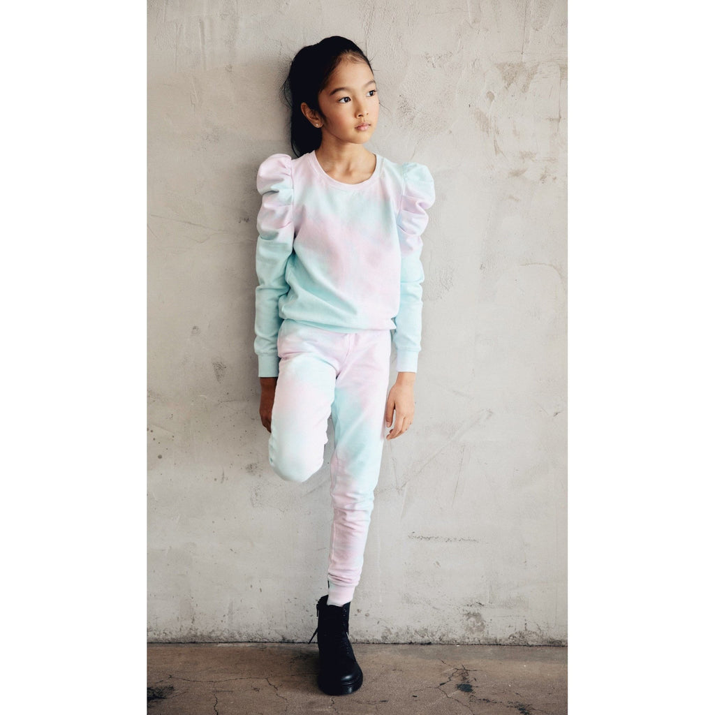 JOLIE MATCHING SET COTTON CANDY TIE DYE