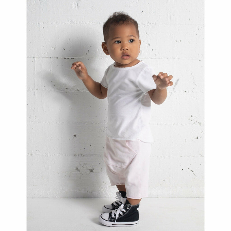 ASHER  BABY TEE HEATHER GREY - Be Mi Los Angeles