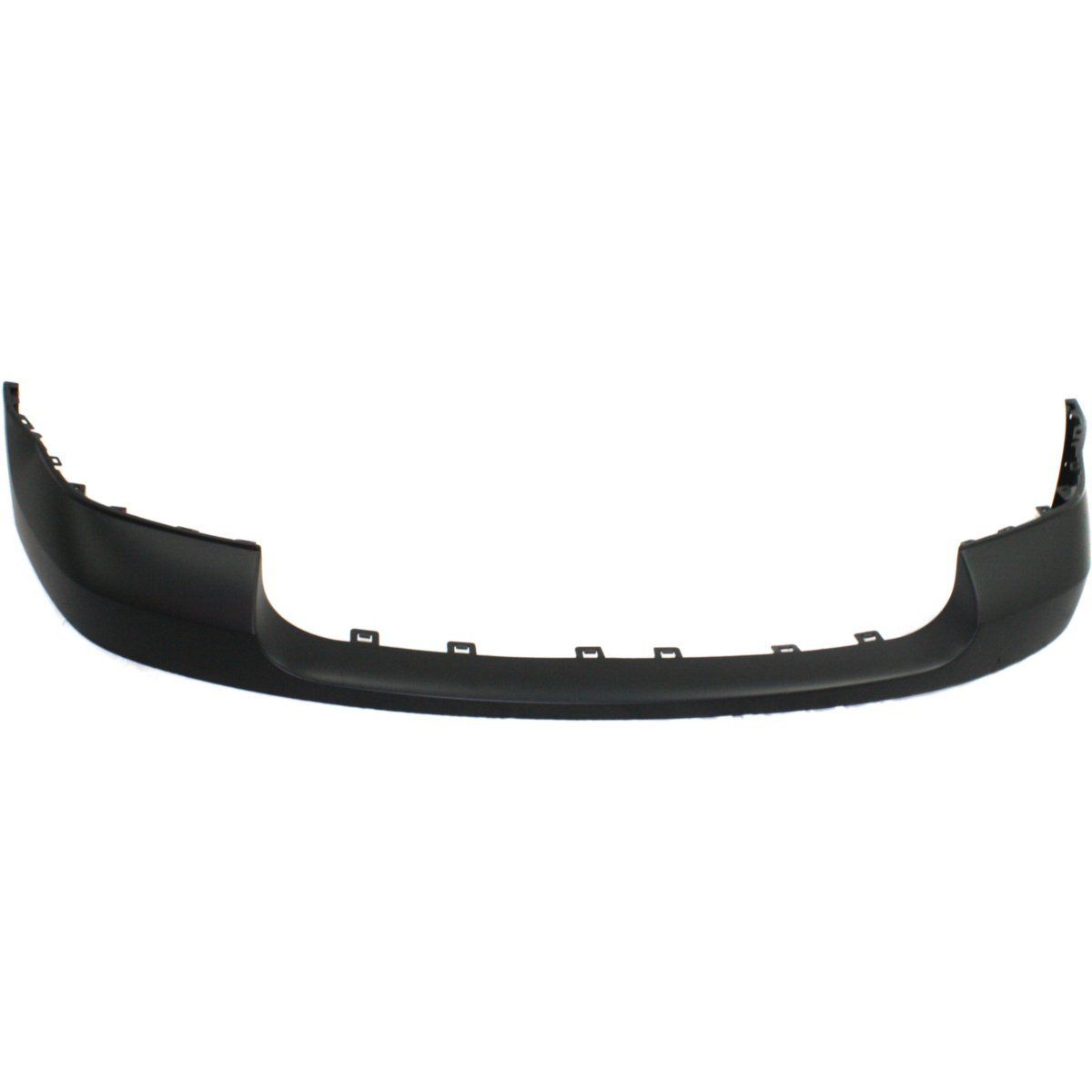 2007-2010 GMC SIERRA 1500 Front Bumper Cover 2500/3500  Black Painted to Match