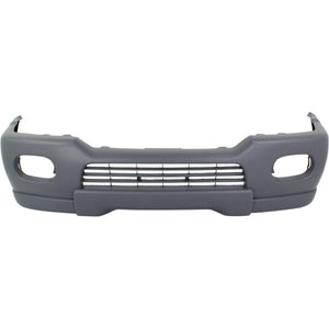 2000-2001 MITSUBISHI MONTERO SPORT Front Bumper Cover w/fender flares Painted to Match