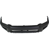 2012-2015 TOYOTA TACOMA Front Bumper Cover PRERUNNER  w/Wheel Opening Flares  Fine Textured Black Painted to Match