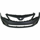 2011-2013 Toyota Corolla S Front Bumper Painted to Match