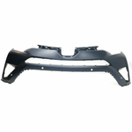 Load image into Gallery viewer, 2016-2017 Toyota RAV4 Front Upper Bumper W/Snsr Holes Painted to Match