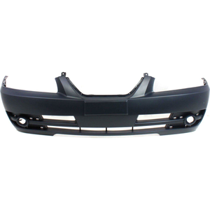 2004-2006 HYUNDAI ELANTRA Front Bumper Cover Sedan  w/o Side Mouldings Painted to Match