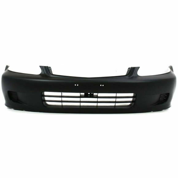 1999-2000 Honda Civic Coupe Front Bumper Painted to Match