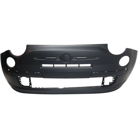 2012-2015 FIAT 500 Front Bumper Cover LOUNGE  w/Chrome Trim Painted to Match