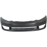 Front Bumper Cover For 2012 Honda Civic EX/EX-L/Si Models w/ Fog Light Hole Painted to Match