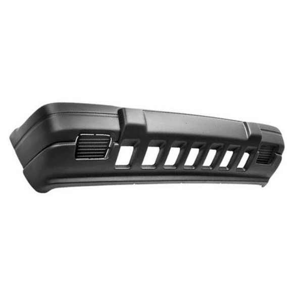 1996-1998 JEEP GRAND CHEROKEE Front Bumper Cover Grand Cherokee Laredo  w/o Fog Lamps  textured  argent Painted to Match