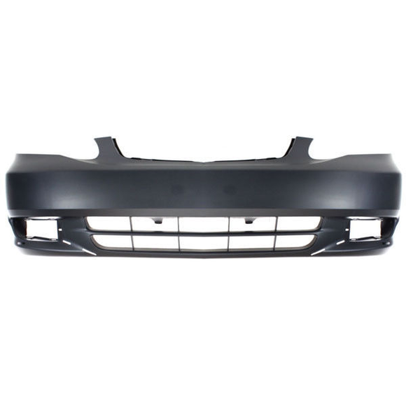 2003-2004 TOYOTA COROLLA Front Bumper Cover S model  w/ground effects Painted to Match