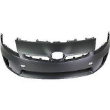 2010-2011 TOYOTA PRIUS Front Bumper Cover Halogen H/Lamps  w/Pre-Collision System Painted to Match