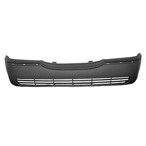 2003-2011 LINCOLN TOWN CAR Front Bumper Cover w/o Fog Lamps Painted to Match