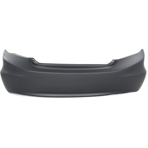 2012 HONDA CIVIC Rear Bumper Cover Canada/USA Built  w/o Park Assist Painted to Match