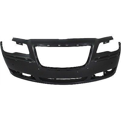 2011-2014 CHRYSLER 300 Front Bumper Cover Sedan  w/Parking Sensor Painted to Match