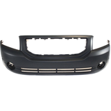 2007-2012 DODGE CALIBER Front Bumper Cover SE|SXT  w/Fog Lamps  w/o Foam Absorber Painted to Match