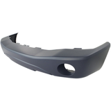 2004-2006 DODGE DURANGO Front Bumper Cover w/Fog Lamps  smooth Painted to Match