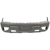2003-2006 CHEVY AVALANCHE Front Bumper Cover 1500 series  w/body cladding  dark charcoal Painted to Match