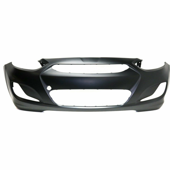 2014-2017 Hyundai Accent Hatchback Front Bumper Painted to Match