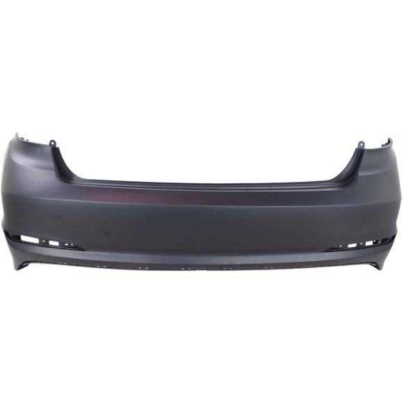 2015-2016 HYUNDAI SONATA Rear Bumper Cover w/o Rear Object Sensors Painted to Match
