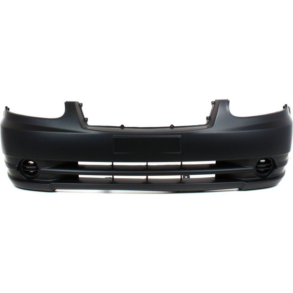 2003-2006 HYUNDAI ACCENT Front Bumper Cover w/o Fog Lamps Painted to Match