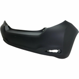 2012-2013 Toyota Yaris Hatchback Rear Bumper Painted to Match