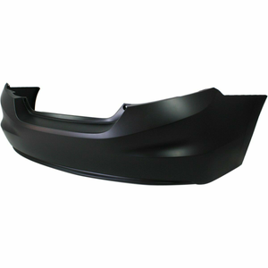 2012-2013 Honda Civic Coupe Rear Bumper Painted to Match