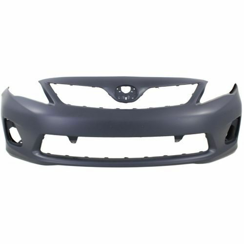 2011-2013 Toyota Corolla Front Bumper Painted to Match