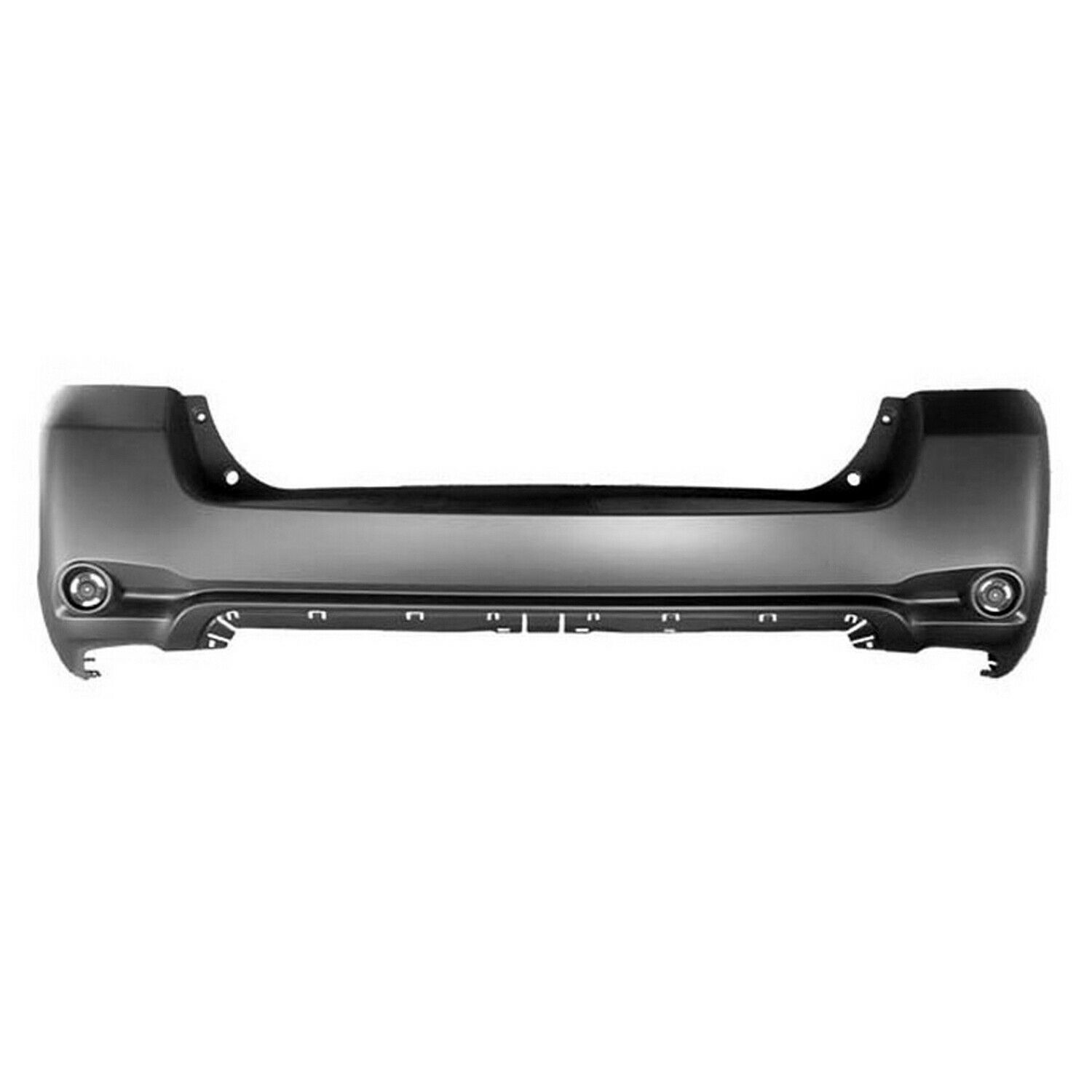 2008-2010 Toyota Highlander Rear Bumper Painted to Match
