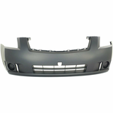 2007-2009 Nissan Sentra No fog Sedan Front Bumper Painted to Match