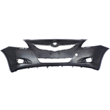 2007-2012 TOYOTA YARIS Front Bumper Cover w/o Fog Lamps Painted to Match