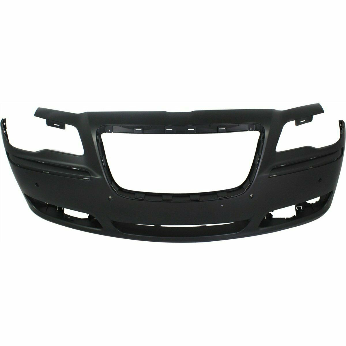 2011-2012 Chrysler 300 w/Snsr Holes Front Bumper Painted to Match