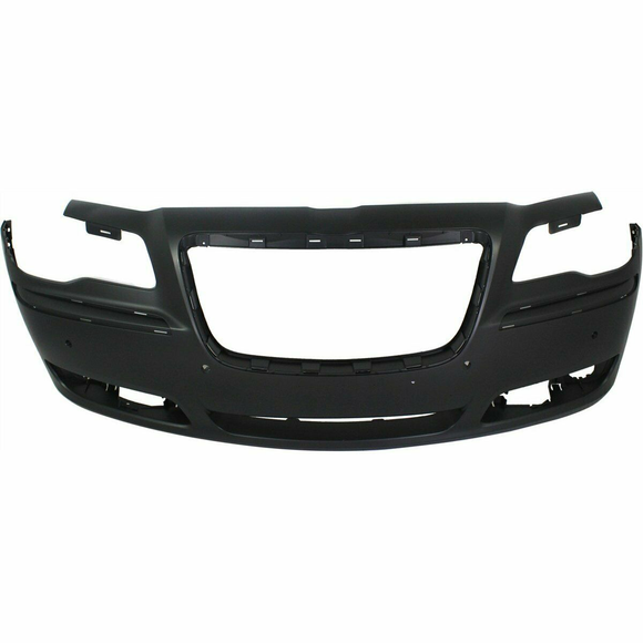 2013-2014 Chrysler 300 w/Snsr Holes Front Bumper Painted to Match