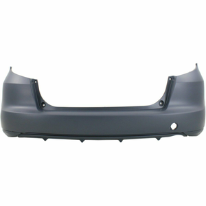 2009-2013 HONDA FIT Rear Bumper Painted to Match