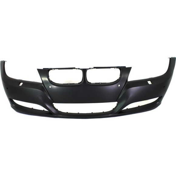 2009-2011 BMW 3-SERIES Front Bumper Cover E90/E91  Sedan/Wagon  w/Park Distance Control  w/Headlamp Washer Painted to Match