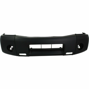 2009-2014 Nissan Titan Front Bumper Painted to Match