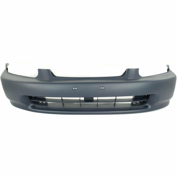 1996-1998 Honda Civic Sedan Front Bumper Painted to Match