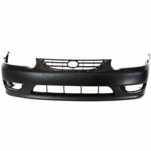 2001-2002 Toyota Corolla Front Bumper Painted to Match