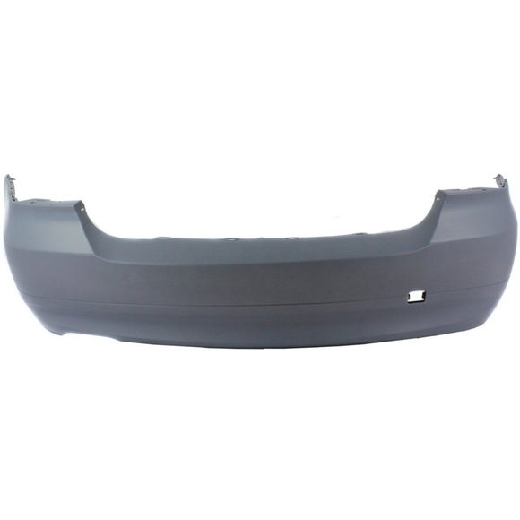 2006-2008 BMW 3-SERIES Rear Bumper Cover E90  3.0L  Sedan  w/o M Pkg  w/o Turbo  w/o Park Distance Control Painted to Match