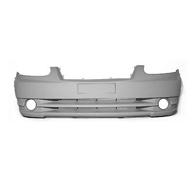 2003-2006 HYUNDAI ACCENT Front Bumper Cover w/Fog Lamps Painted to Match