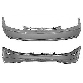 1995-2001 CHEVY LUMINA/MONTE CARLO Front Bumper Cover w/bright molding  except LTZ Painted to Match