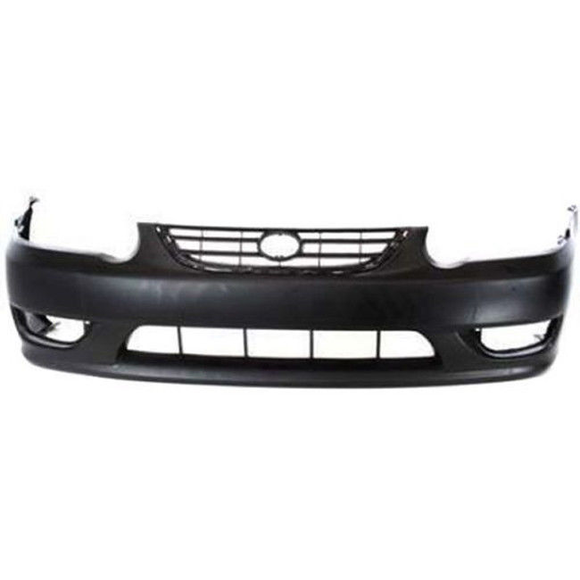 2001-2002 TOYOTA COROLLA Front Bumper Cover Painted to Match