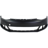 2011-2014 VOLKSWAGEN JETTA Front Bumper Cover Sedan  w/o Headlamp Washer  w/o Parking Assist Painted to Match