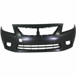Load image into Gallery viewer, 2012-2014 Nissan Versa Sedan Front Bumper Painted to Match