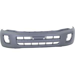 2001-2003 TOYOTA RAV4 Front Bumper Cover w/o Wheel Opng Flares  matte dark gray Painted to Match