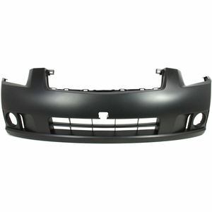 2007-2009 Nissan Sentra w/fog Sedan Front Bumper Painted to Match