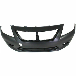 2012-2014 Nissan Versa Sedan Front Bumper Painted to Match